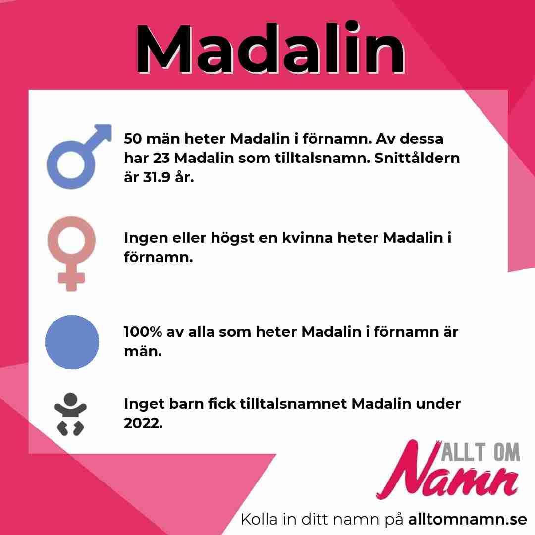 Bild som visar hur många som heter Madalin